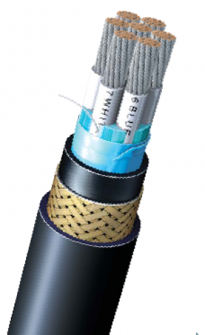 600V_Control_Cable_with_Overall_Braid_Shield